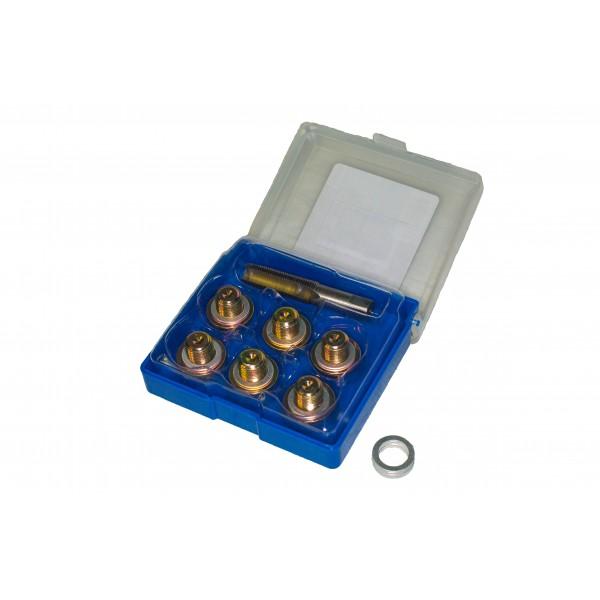 Набор для восстановления резьбы маслосливных отверстий M13 x 1,5 Vertul VR50207B
