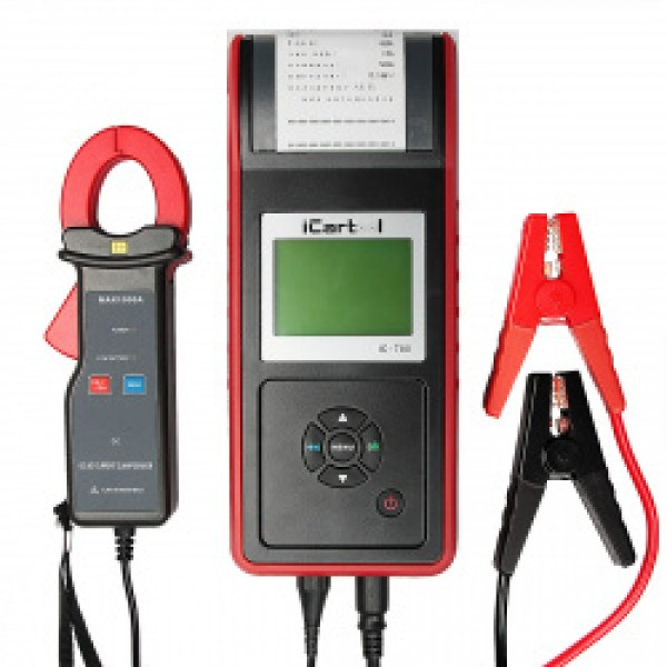 Профессиональный тестер аккумуляторных  батарей (АКБ) 12/24V IC-700