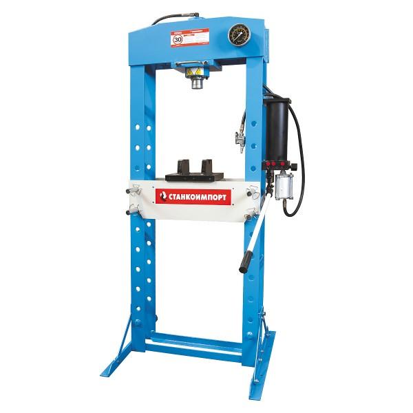 пневмо-гидравлический рамный пресс на 30 тонн SD0808CEA