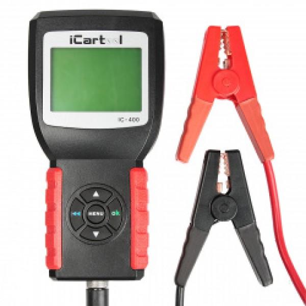 Тестер аккумуляторных батарей (АКБ) 12/24V IC-400