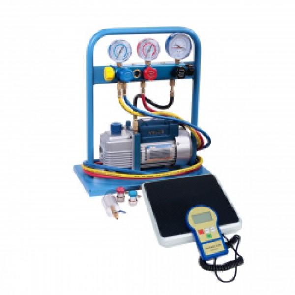 Комплект для заправки кондиционеров,  compact AC-2015