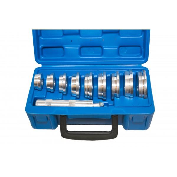 Набор оправок для установки подшипников, сальников 11пр. Vertul VR50130