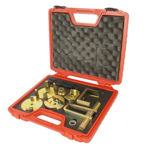 Набор инструментов для демонтажа/монтажа сайлентблоков подрамника (MERCEDES W203) JTC JTC-1553