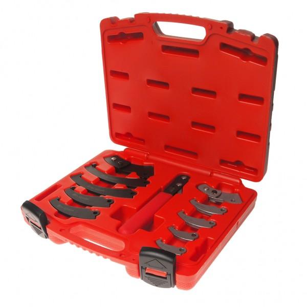 Ключ для круглых гаек с прорезью (с насадками) JTC JTC-4455