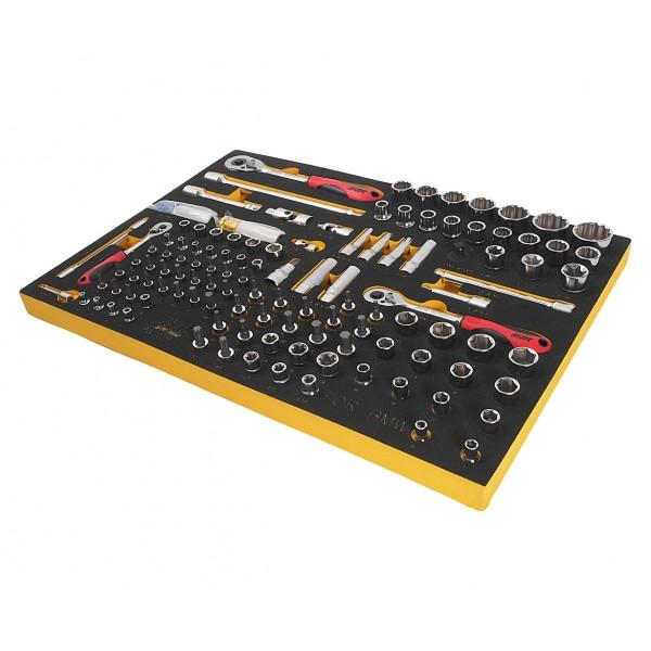 Набор инструментов 119 предметов слесарно-монтажный (BMW) в ложементе JTC JTC-BW1119