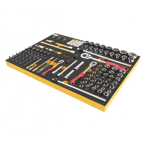 Набор инструментов 119 предметов слесарно-монтажный в ложементе JTC JTC-US1119