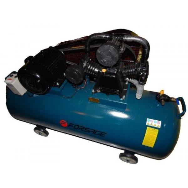 Компрессор Forsage F-TB290T-500  500л 3-х поршневой с ременным приводом (7.5кВт, ресивер 500л, 750л/м, 380В)
