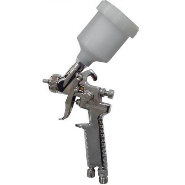 Краскораспылитель HVLP Forsage F-SG-1047 с верхним пластиковым бачком (бачок 250мл, сопло 0.8мм, 127л/мин)