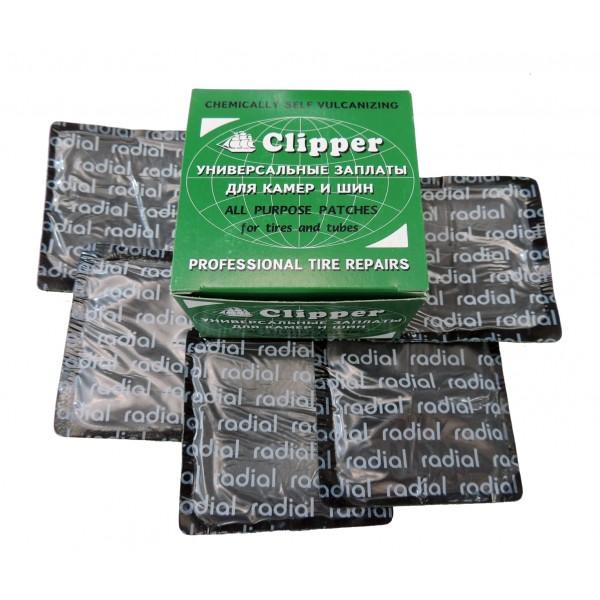 Заплаты универсальные 76*76мм CLIPPER H410 (набор 15 шт.)