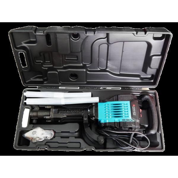 Отбойный молоток ручной электрический Forsage electro HM40-1750C (220В, 1750Вт, 2100 уд/мин, патрон Hex) в кейсе