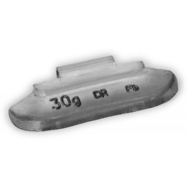 Грузик балансировочный для стальных дисков 30 г Dr.Reifen