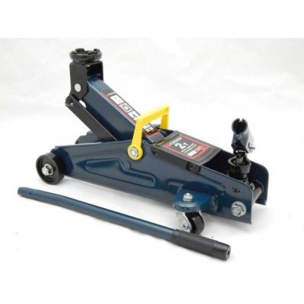 Домкрат подкатной Forsage  2 т (h min 135мм, h max 385мм) с вращающейся ручкой F-TH22001CB