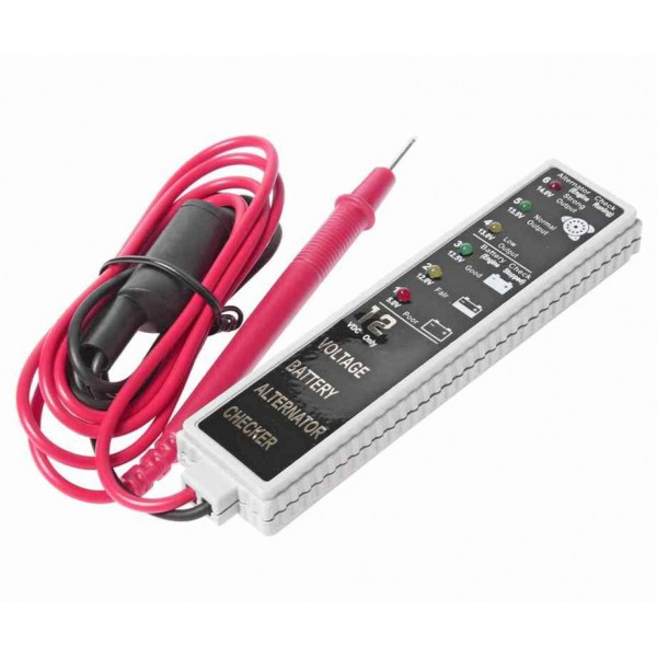 Тестер аккумулятора и генератора JTC-J027