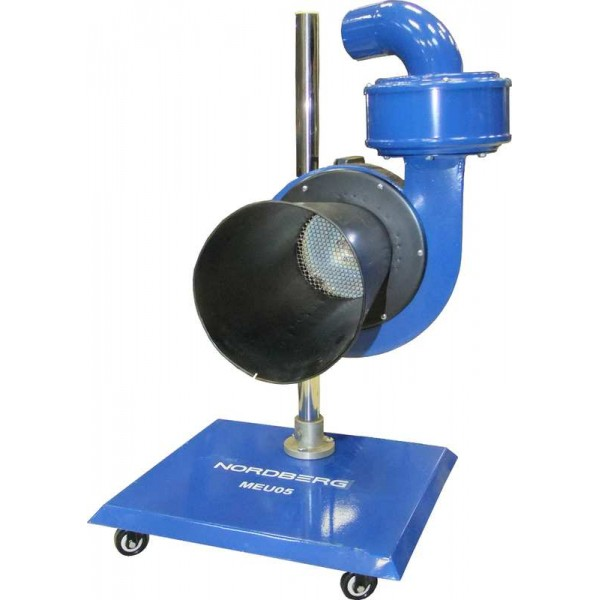 Мобильная установка для сбора выхлопных газов MEU05 (380в)