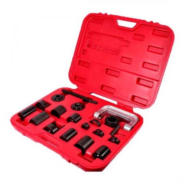 Съемник сайлентблоков и подшипников с набором оправок Partner PA-04011, 21пр.