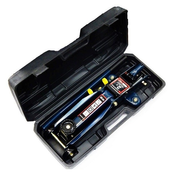 Домкрат подкатной Forsage  2 т (h min 135мм, h max 385мм) в кейсе F-TH22001C