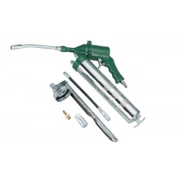 Солидолонагнетатель пневматический Rotake RT-4106-5 500 мл/картридж 470мл (max 400 бар) с дополнительным комплектом