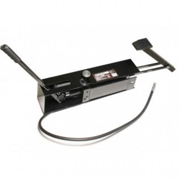 F-0100-5B Forsage Станция гидравлическая с ножным и ручным приводом в защитном кожухе 30т (объем масла - 1.5л, давление - 630 bar )