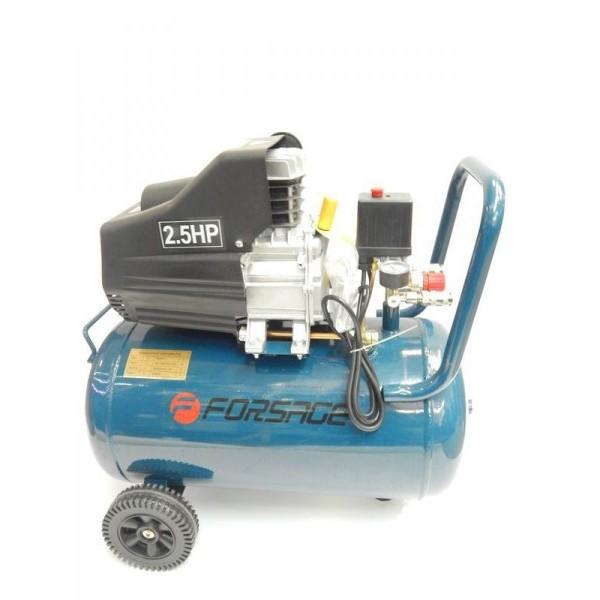 Компрессор Forsage F-BM25/50  50л поршневой с прямым приводом (2.2кВт, ресивер 50л, 180л/м, 220В)