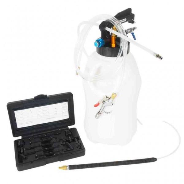 Приспособление для перекачивания масла и технических жидкостей с пневматическим приводом, емкость 10л JTC /1
