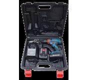 Шуруповерт аккумуляторный Forsage electro CDA18V-Li-ion (18 V, 0-350/1350 об/мин, max ф 10 мм, 46 Nm, 2 АКБх1.5 Ah Li-ion)