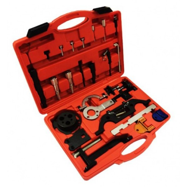 Forsage F-04A2037 Набор фиксаторов для двигателей 1.3 CDTI 16V, 1.9 CDTI, 2.0 DTI, 2.2 DTI (OPEL/VAUHALL), в кейсе