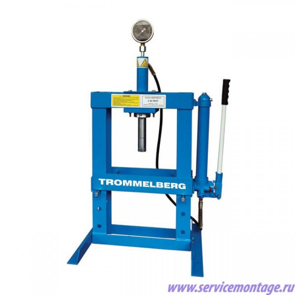 TROMMELBERG SD100802 Пресс настольный 10 т (с манометром)