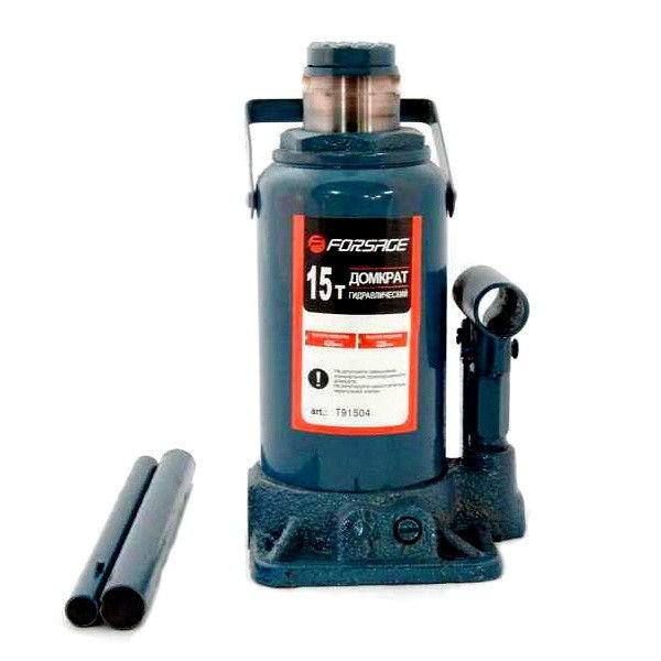 Forsage Домкрат бутылочный 12т низкий  с клапаном (h min 185мм, h max 335мм) F-T91207