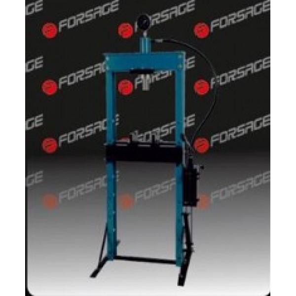 F-TY12002 Forsage Пресс гидравлический с манометром напольный 12т, ручной/ножной привод (раб. высота: 0-900мм, раб. ширина: 475мм, раб. стол:180х475мм, ход штока:135мм)