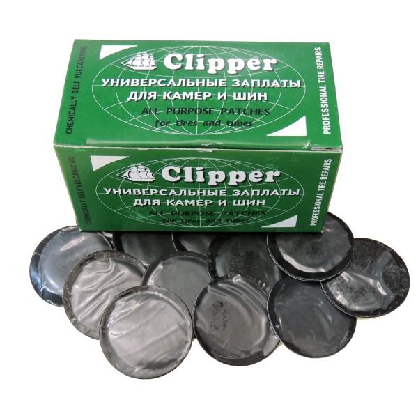 Заплаты камерные 32мм CLIPPER B032 (НАБОР 100 ШТ.)