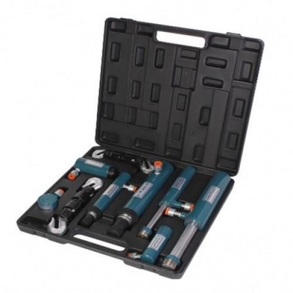 Forsage Комплект цилиндров гидравлических прямого и обратного действия 2т, 4т, 5т, 10т в пластиковом кейсе 7пр. F-0200-1S