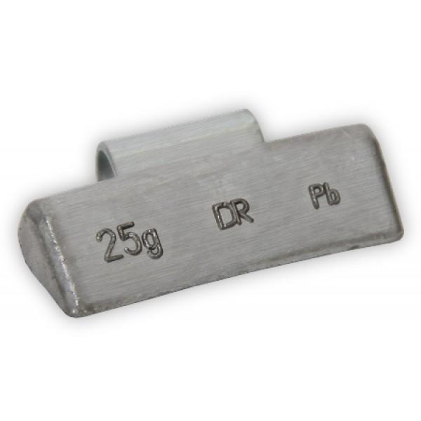 Грузик балансировочный для литых дисков 25 г Dr.Reifen