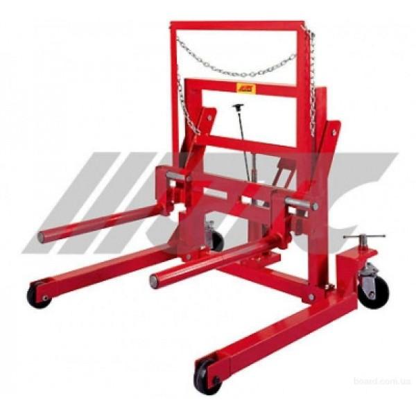 Гидравлическая тележка для транспортировки колес JTC-WD1250