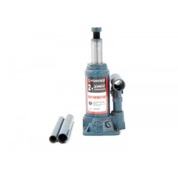 Forsage Домкрат бутылочный  2 т с клапаном (h min 148мм, h max 278мм,вес 2,4 кг) F-T90204