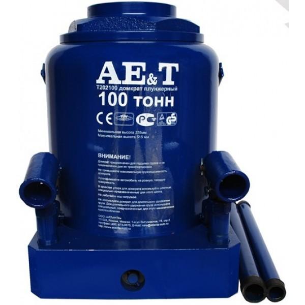 Домкрат бутылочный  AE&T 100т T202100