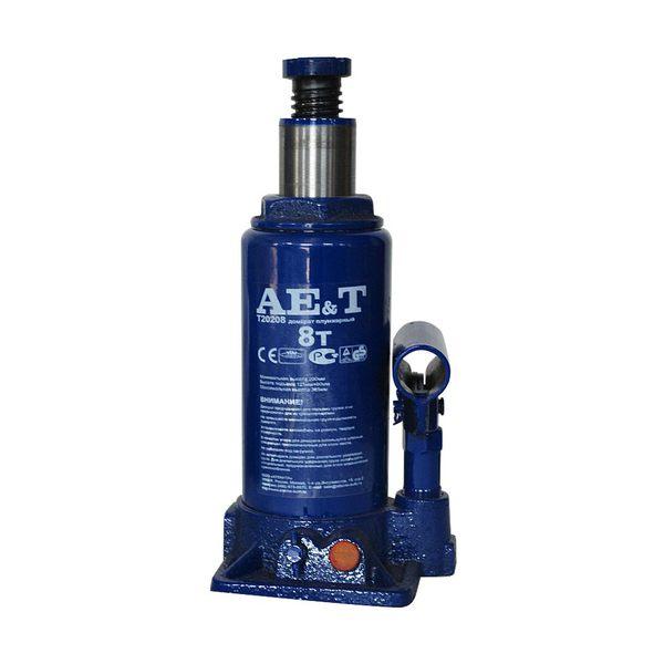 Домкрат бутылочный  AE&T 8т T20208