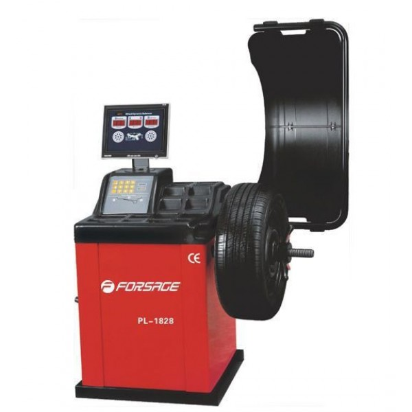 F-PL-1828 Forsage Стенд балансировочный PL-1828 с LED монитором, макс. диаметр диска 10 - 24