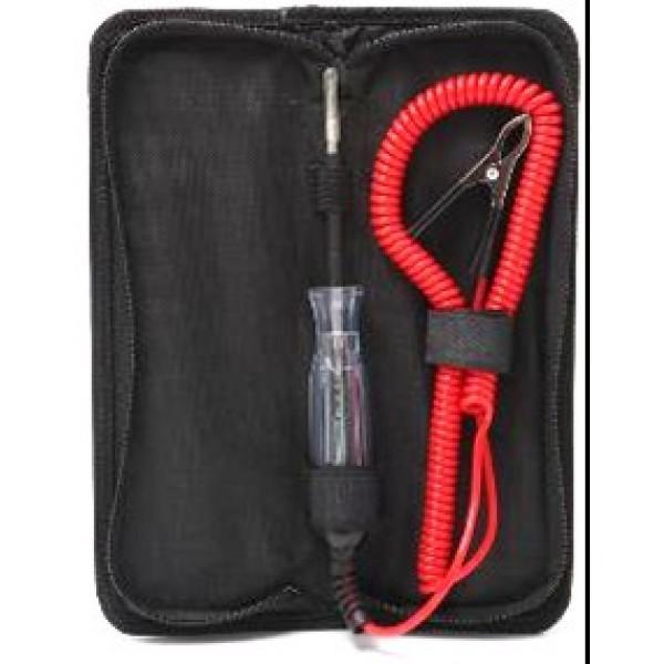 Forsage Пробник автомобильный цифровой 6-48V (длина провода - 3,5м) в сумке F-01M0118