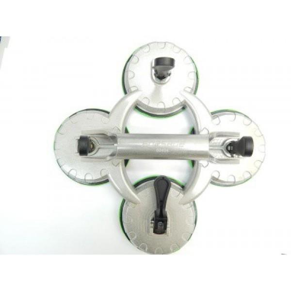 F-68404 Forsage Съемник стекол четырехзажимной (присоска) диам. 123мм-120кг (алюм.)