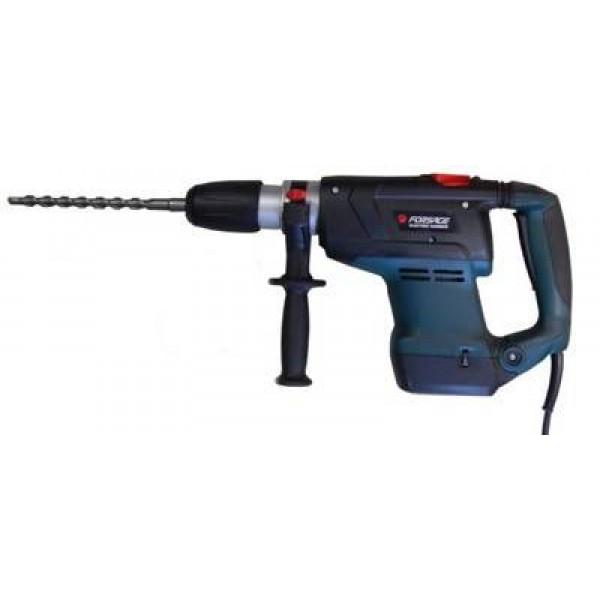 Перфоратор электрический Forsage electro RH10-1400ECMax, 220V, 1400W, 10Дж, 1750-3500 уд/мин(в кейсе)