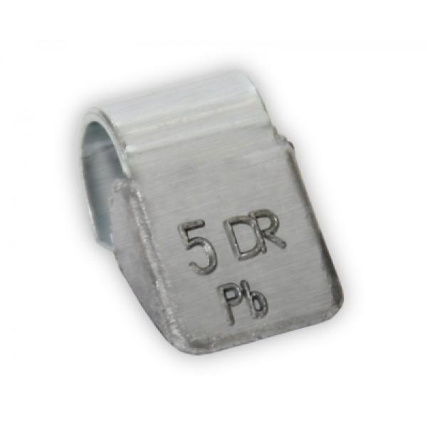 Грузик балансировочный для стальных дисков 5 г Dr.Reifen