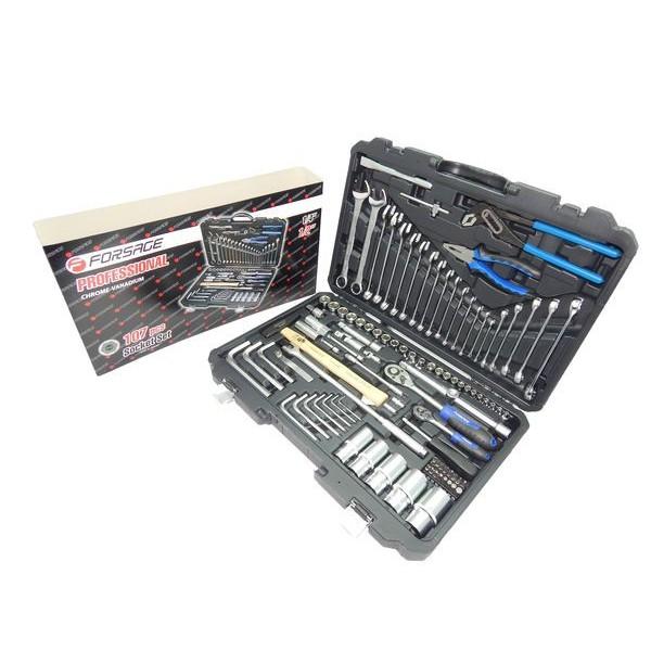 Набор инструментов Forsage F-41071 107 предметов (6гр.)