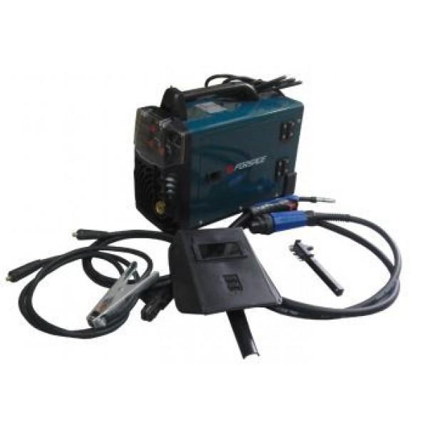 F-MIG/MMA250 Forsage Сварочный инвертор-полуавтомат (20-250А, электрод 1.6-4мм, проволока 0.6-1мм, 220В) с комплектом аксессуаров