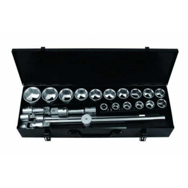 Набор инструментов Forsage F-6241-5 24пр. 3/4* (6гр.)(17-50мм)