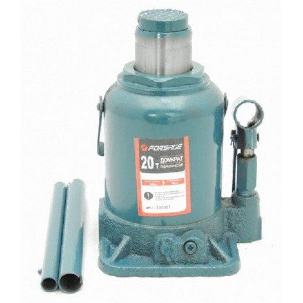 Forsage Домкрат бутылочный 30т с клапаном (h min 255мм, h max 405мм) F-T93004