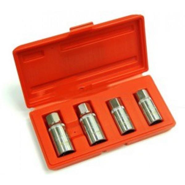 Forsage 5042 Набор шпильковертов 4пр.(6,8,10,12мм) в пластиковом кейсе F-5042