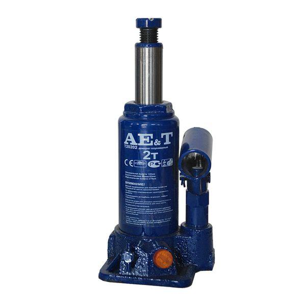 Домкрат бутылочный  AE&T 2т T20202
