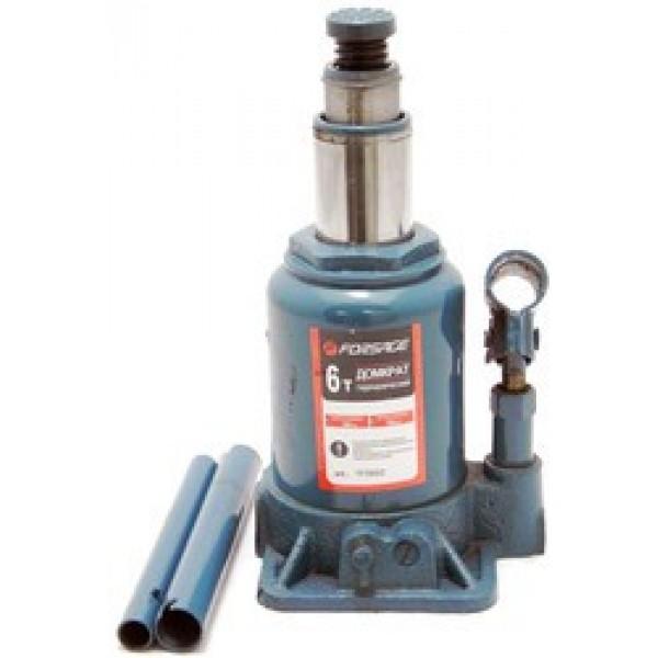 Forsage Домкрат бутылочный с двумя штоками,  6т (h min 154мм, h max 354мм) F-TF0602
