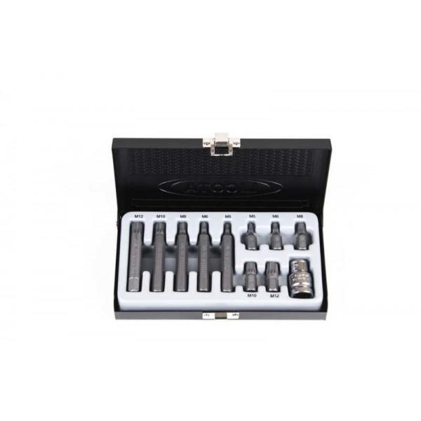 Набор бит Spline М5-М12 S2 11пр. LICOTA ABS-80006