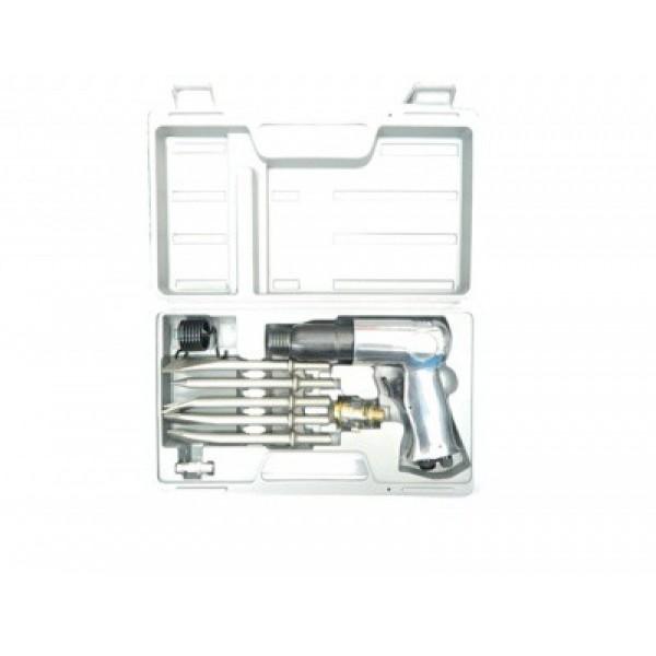 Пневмозубило Forsage F-ST-2312K/R  2000 уд/мин в кейсе (кругл. хвостовик, 113л/мин)
